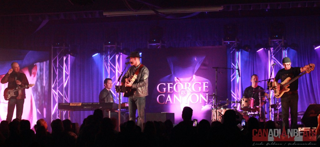 George Canyon and his band.