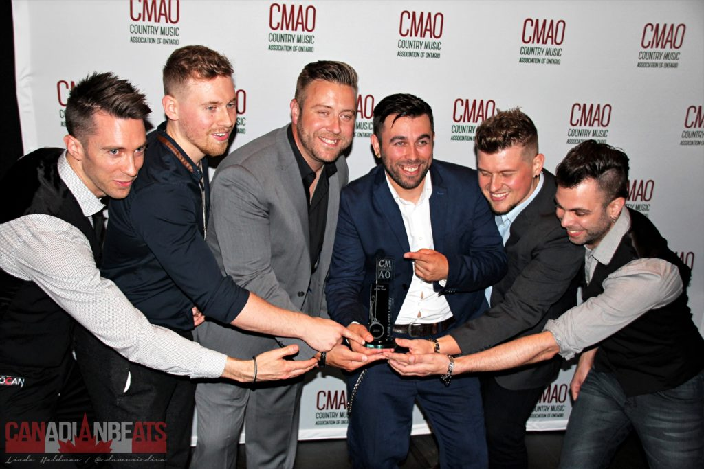 Cold Creek County - Winners of Group or Duo of the Year and Rising Star Awards