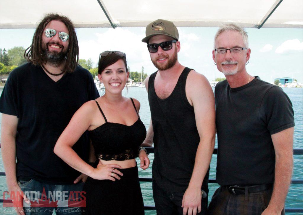 Jesse Pitcher, Jessie T., Andrew Hyatt and Jamie Warren