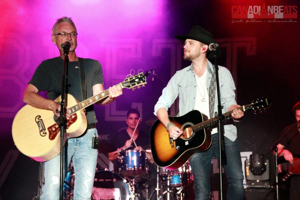 Jamie Warren with Brett Kissel