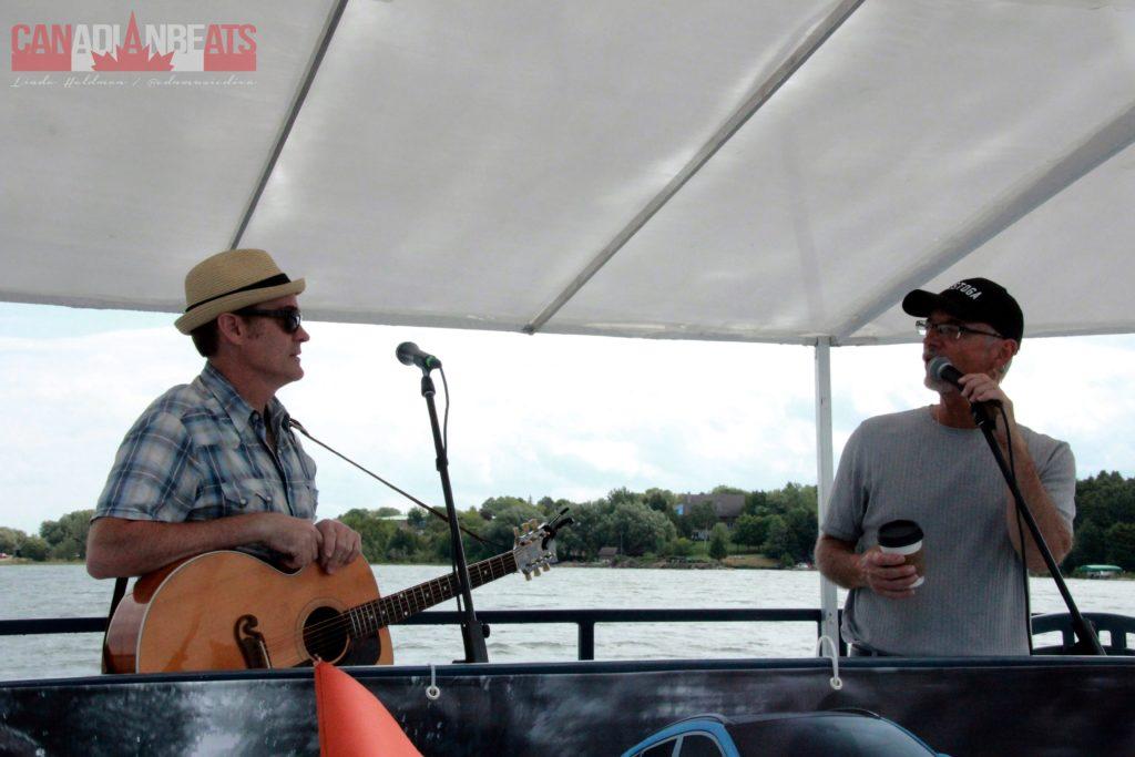 Sean Hogan and Jamie Warren
