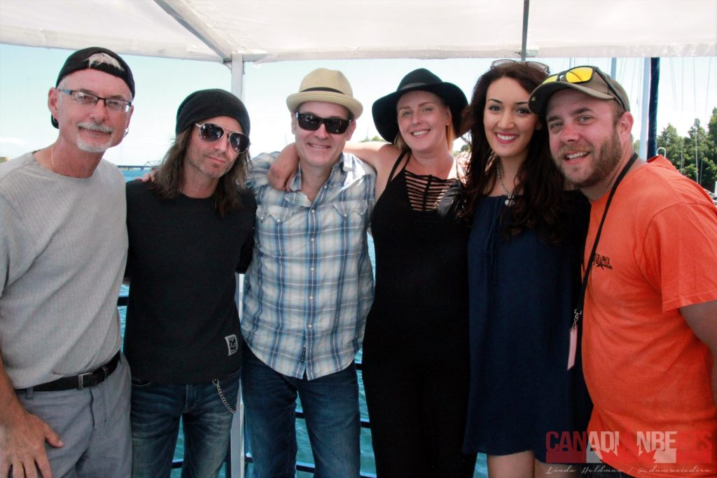 Jamie Warren, Ken Vella, Sean Hogan, Jessica Mitchell, Alessia Cohle and Corey Barnes (Country 103)