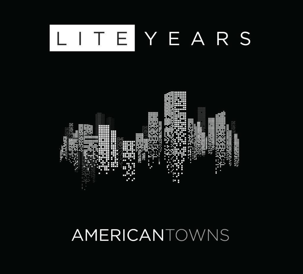 Liteyears – American Towns Album Art