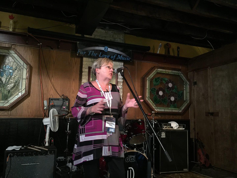 Sheila Hamilton from Unison