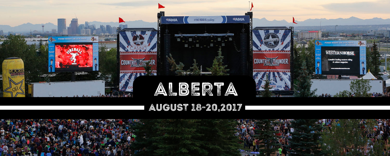 Country Thunder Calgary Is Back For 2017 With A Massive