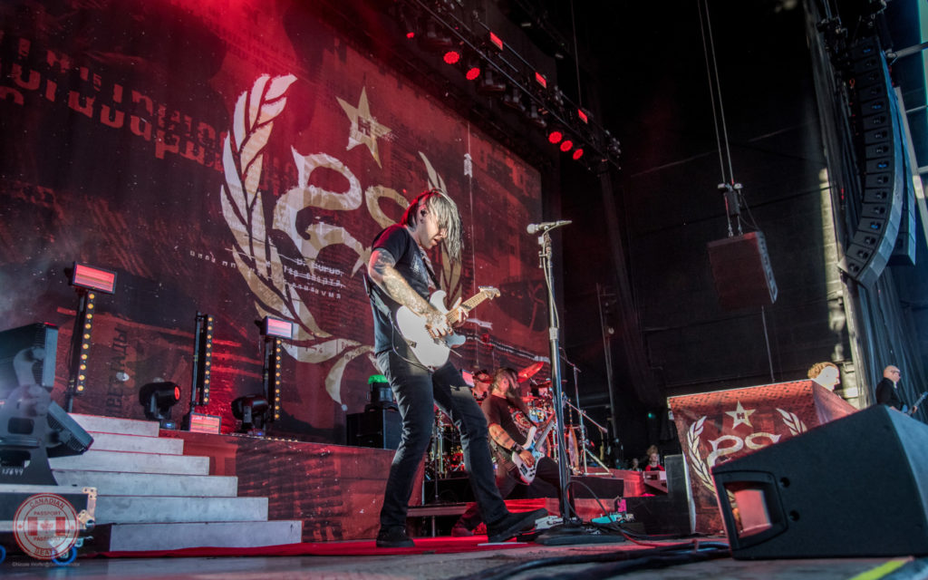 Canadian Beats Passport - Show Review - Korn & Stone Sour