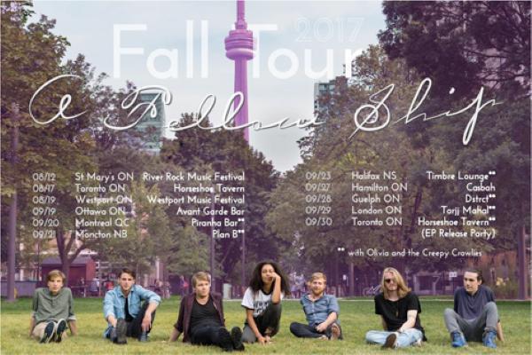 A Fellow Ship – Fall 2017 Tour