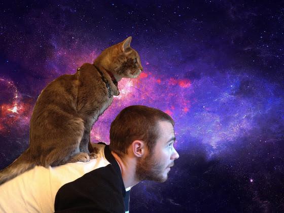 Casper the astral cat…