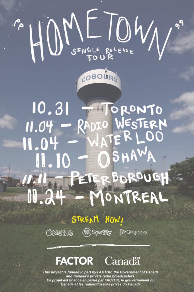 hometown tour poster