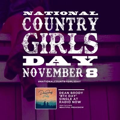 National Country Girls Day_Nov 8