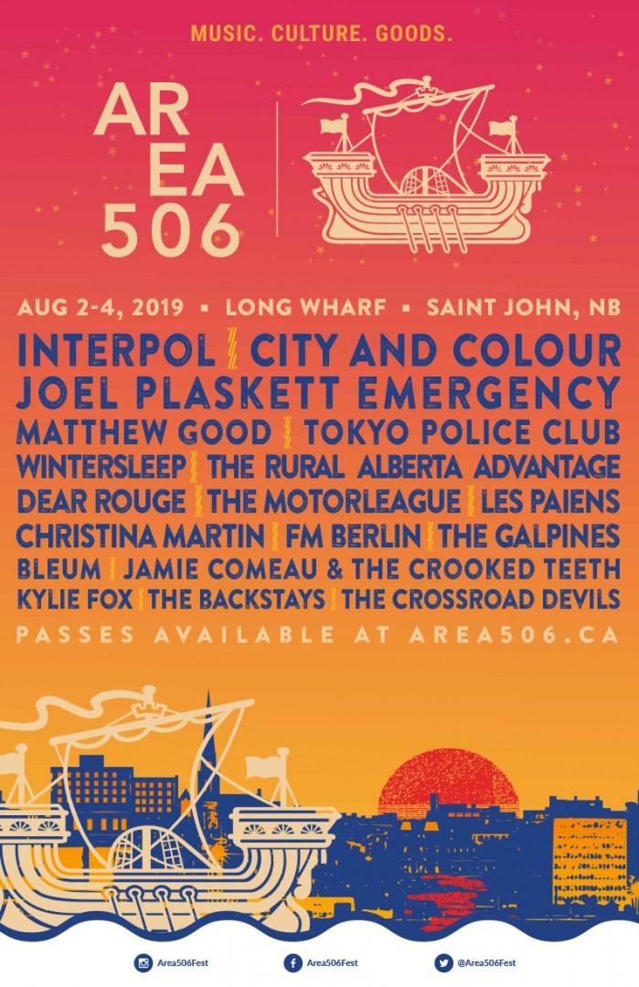 Area 506 announces 2019 lineup   Canadian Beats Media