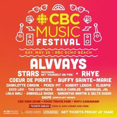 CBC Music Festival announces 2019 lineup