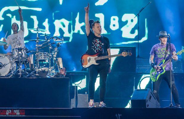 Highlights of Blink-182, The Offspring & Neck Deep at Festival d'été de Québec | Canadian Beats Media