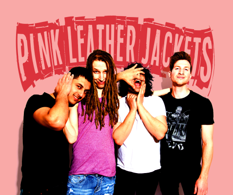 """PREMIERE – Pink Leather Jackets release video for """"Wasting Time"""""""