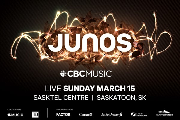 Runnin' Back To Saskatoon – Additional performers, presenters announced for JUNO 2020 broadcast